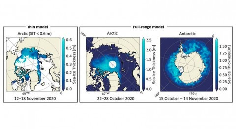 Estudiantes NanoSat Lab generan mapas hielo marino y humedad suelo