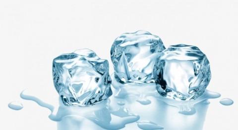 Ozonización hielo alimentario y bebidas