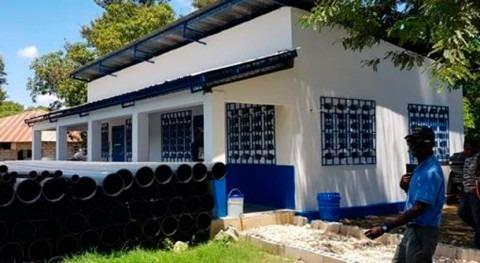 Rehabilitación sistema agua potable Hinche, Haití
