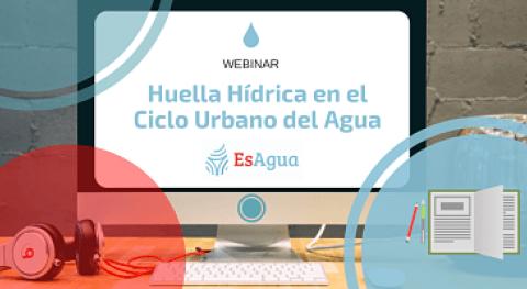 Red EsAgua organiza webinar huella hídrica ciclo urbano agua