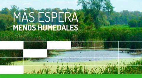Organizaciones argentinas llaman accción conservación humedales