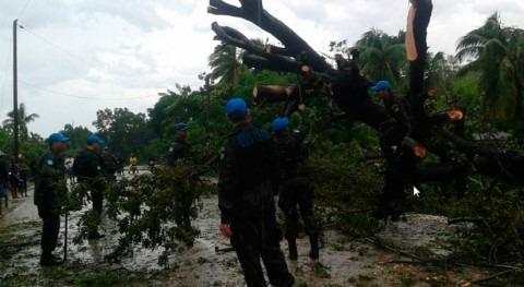 infraestructuras agua y saneamiento Caribe, riesgo paso huracán Matthew