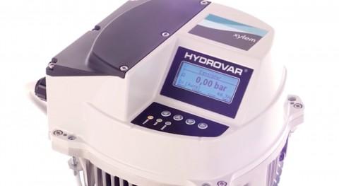 nuevo controlador bomba Hydrovar Xylem reduce consumo energía 70%