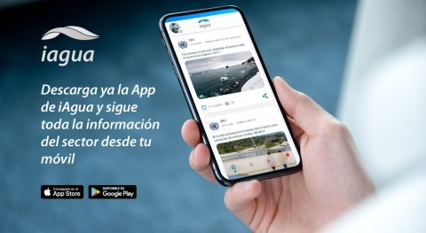 iAgua lanza App llevarte mejor información sector agua