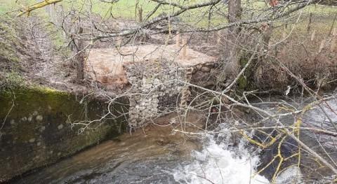 URA consolida tramo margen erosionado río Ugalde Markina Zuia