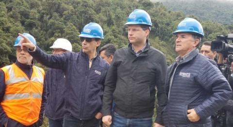Avanza Ramal Chalpi Grande - Papallacta, obra que garantizará Agua Quito 2040
