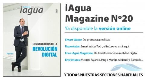 ¡Lee ya online iAgua Magazine 20!