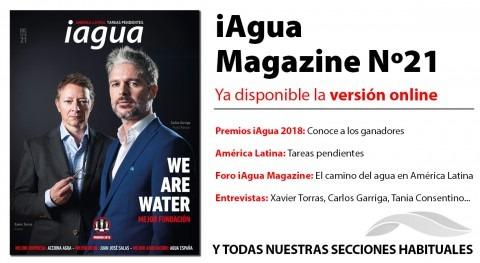 ¡Lee ya online iAgua Magazine 21!