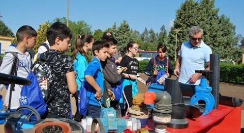 Concluye Aquafresi, que acerca escolares función Regantes Palos Frontera