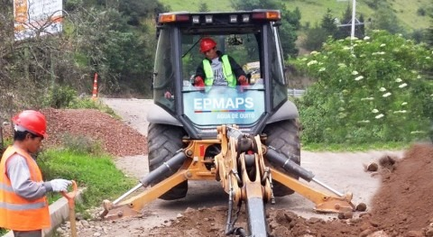 Agua Quito construye planta tratamiento aguas residuales parroquia Pifo