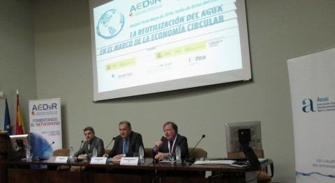 """Gran éxito participación jornada """" reutilización agua economía circular"""""""