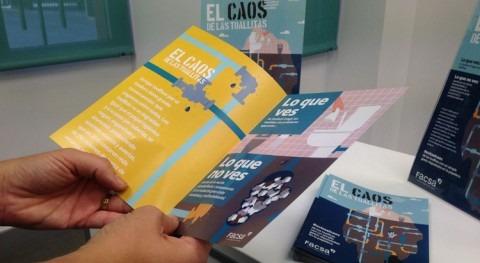 FACSA lanza campaña concienciación problema toallitas húmedas