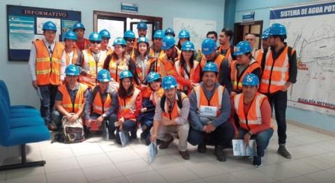 Agua Quito es ejemplo gestión universitarios españoles
