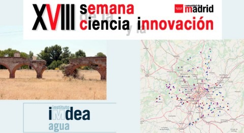 patrimonio hidráulico cultural Madrid: mapas antiguos ciencia social Web