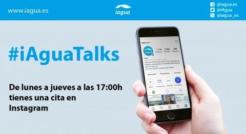 Llega #iAguaTalks Instagram