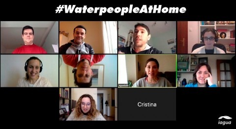 #WaterpeopleAtHome: Waterpeople se vuelca sector trabajando casa