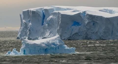 desprendimiento mayores icebergs antárticos, señal alarma