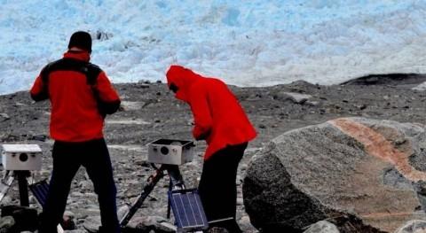 agregados hielo durante invierno marcan momento desprendimientos icebergs