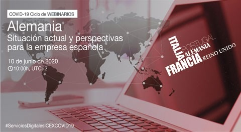 Webinario Alemania-Covid19: situación actual y perspectivas empresa española