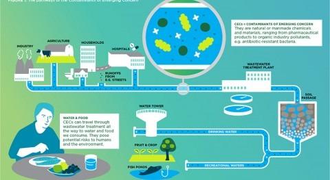 Científicos internacionales advierten riesgo real y potencial contaminantes emergentes
