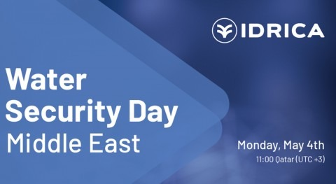 próximo 4 mayo tendrá lugar Idrica Water Security Day Middle East