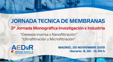 Tecnología membranas, III Jornadas Monográficas Investigación e Industria