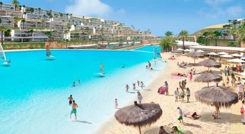 Crystal Lagoons llevará idílica vida playa montañas Sokhna Egipto