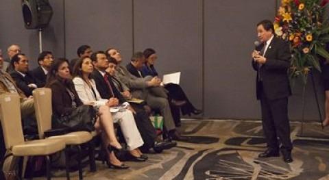 España refuerza Perú presencia agenda iberoamericana agua