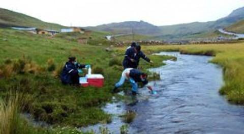 Campaña de monitoreo en el Río Chancay