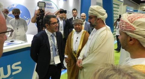 Aqualia y Majis presentan alianza sostenibilidad Oman Energy & Water 2018