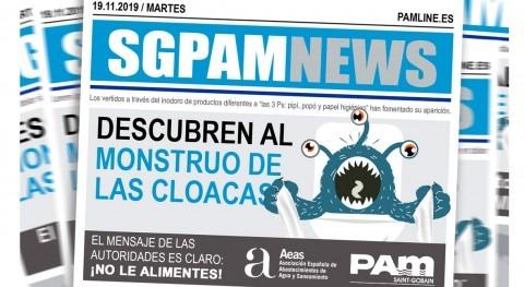 "Saint-Gobain PAM lucha "" monstruo cloacas"""