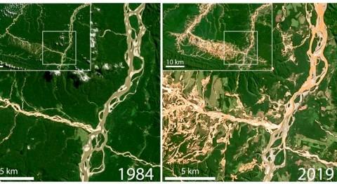 extracción oro escala artesanal compromete calidad agua ríos Perú