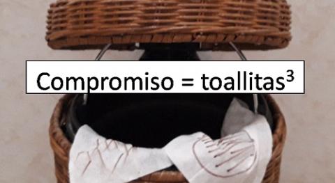solución al problema toallitas húmedas: cacafilia vs. cacafobia