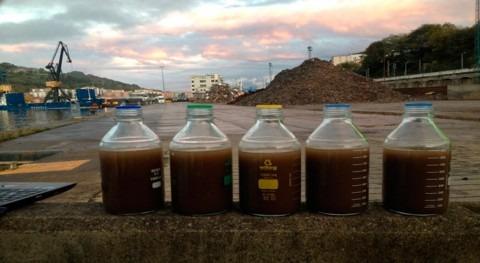 Flujos contaminantes escorrentías pluviales muelles portuarios