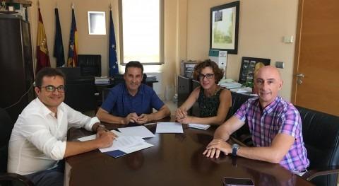 HIDRAQUA, firma Montesinos convenio promoción y sensibilización igualdad
