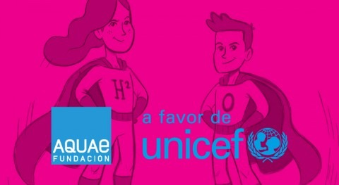 Acto renovación convenio colaboración Fundaicón Aquae y UNICEF Amazonía peruana