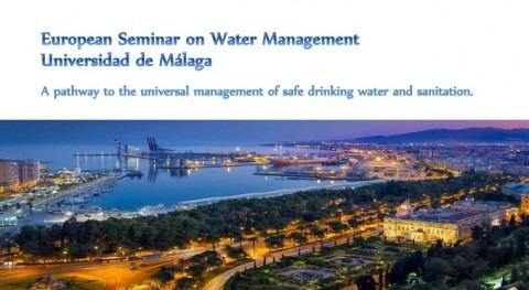 Acosol organiza Seminario Europeo Gestión Agua días 30 y 31 marzo Málaga