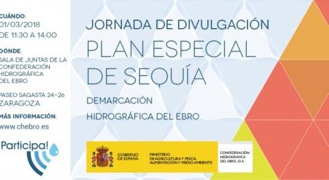 Jornada divulgativa revisión Plan Especial Sequía Demarcación Ebro