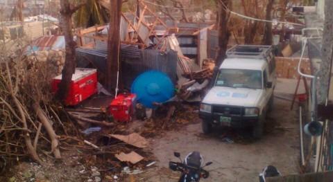cólera repunta Haití: 29 fallecidos huracán 'Matthew'