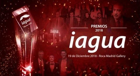 Premios iAgua 2018 se entregarán próximo 19 diciembre Madrid