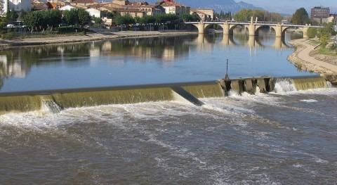 Río Ebro a su paso por Miranda (wikipedia/CC)