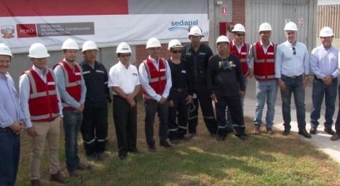 Ministro Vivienda Perú visita planta Chira, que opera ACCIONA Agua