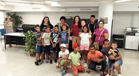Hidraqua Santa Pola renueva colaboración alimentación y sanidad niños saharauis