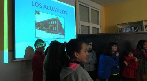 CHE, presente final First Lego League y divulgando sobra agua colegios participantes