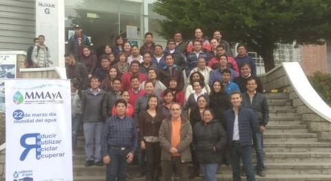 Selección tecnologías y diseño plantas tratamiento Bolivia