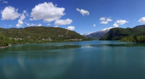 CHE licita obra adecuación desagües fondo presa Búbal (Huesca)