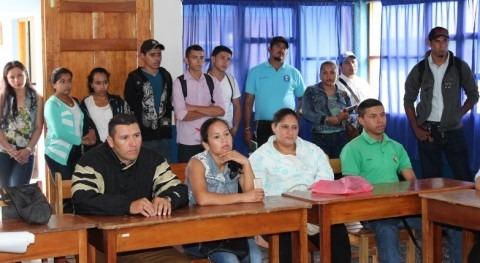 Nicaragua: Primeros técnicos agua y saneamiento