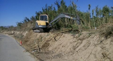 marcha recuperación bosque ribera paraje Barratera Cieza