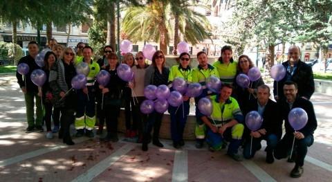 Usuarios y empleados Aqualia Alcoy dejan mensajes Día Internacional Mujer