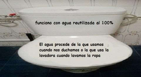 Reutiliza agua casa llenar cisterna WC